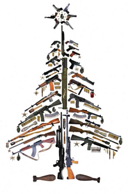 Gun Guy's Christmas tree